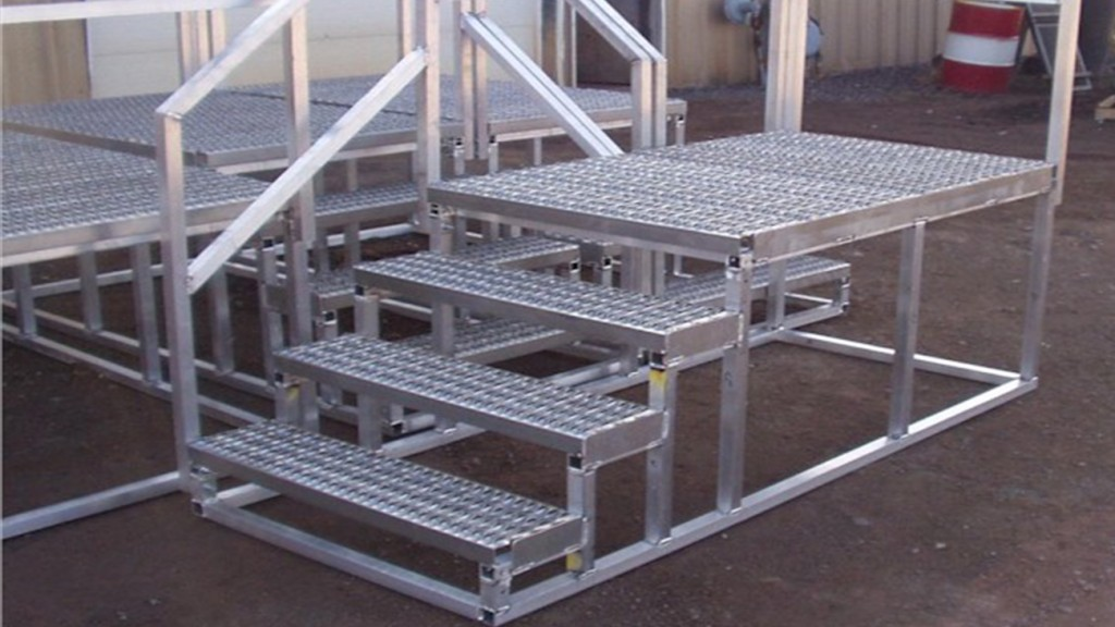 Aluminum Steps