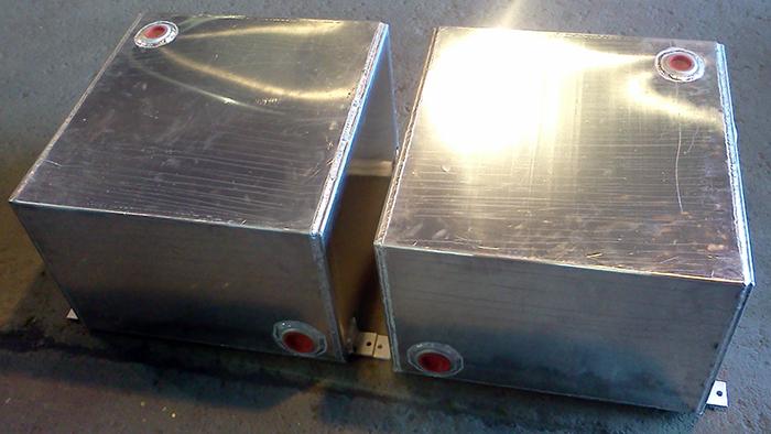 aluminum tanks