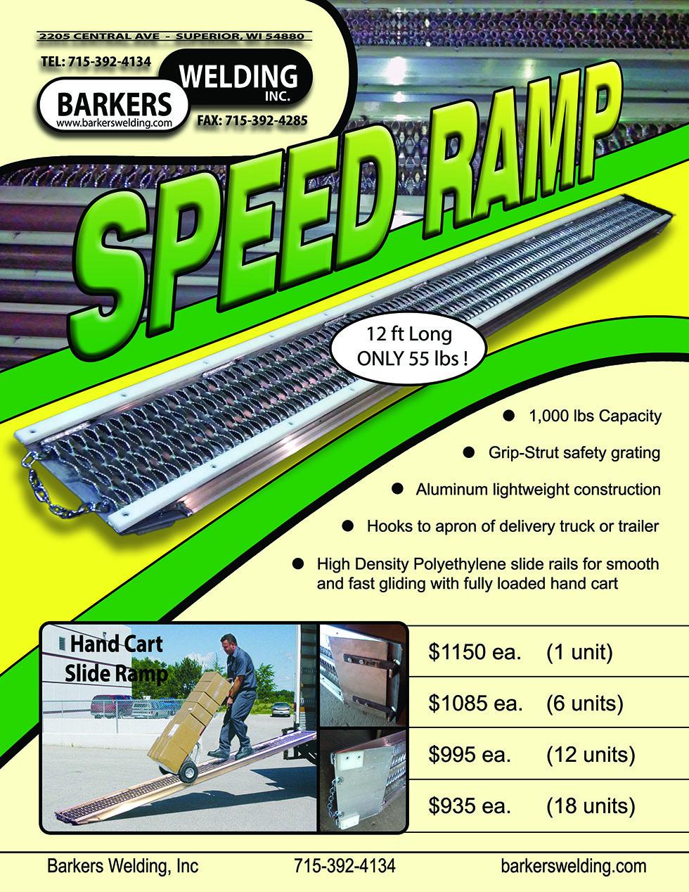 Speed Ramp Flyer